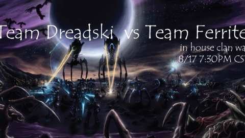 In House Clan War: Team Dreadski vs Team Ferrite Enroll Now